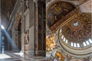 St Pierre de Rome // St Paul Cathedral Londres