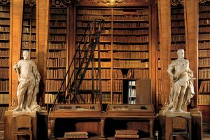 Vienne national bibliotheque Autriche
